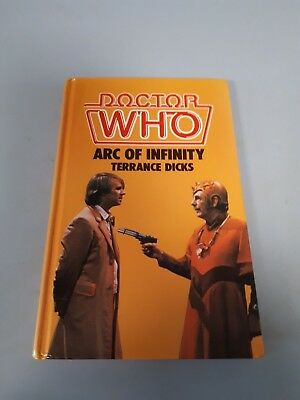 Dr who Arc of infinity hard back book *