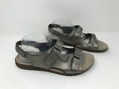 a8cbcc600d3d Womens Cobbie Cuddlers Wide Width Beatrice Sandal 52070 Pewter R14