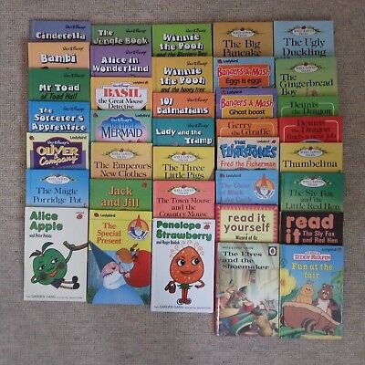 37off - Children's Picture Books - Vintage Ladybird Classic Titles- Early years