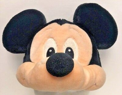 Disney Mickey Mouse with Ears Black Mens Hat Cap Youth Strapback Closure