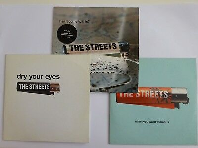 Lot 3 Cd : The Streets : When You Wasn't Famous / Has It Come To [ Cd Single ]