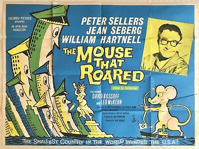 The mouse that roared original quad film poster 1959 peter sellers the mouse that roared original quad film poster 1959 peter sellers john stockle publicscrutiny Image collections