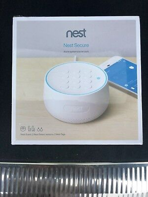 Nest Secure Alarm System Starter Pack Model H1500ES - Free Priority Shipping