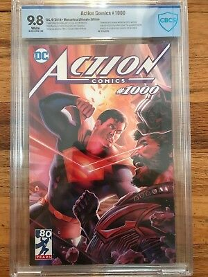 Action Comics #1000 Felipe Massafera Ultimate Cbcs 9.8 Edition - Limited To 250