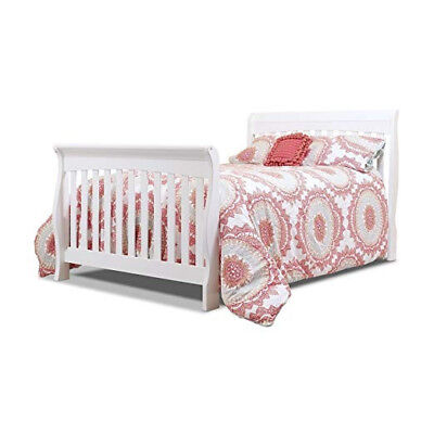 Sorelle Tuscany Full Size Bed Conversion kit- RAILS ONLY- White