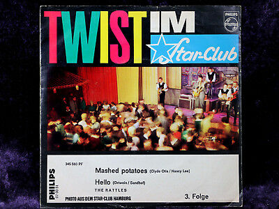 "BEAT 7"" Single THE RATTLES - MASHED POTATOES ©STAR-CLUB 1963"
