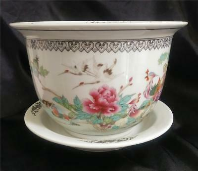 Vintage Chinese Famille Rose Planter