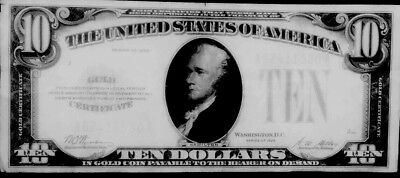 $10 1928 $10 Gold Certificate,Yellow Seal,Woods/Mellon,circulated With Out Folds