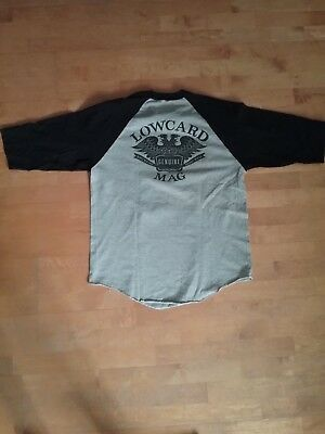 LOWCARD - Raglan SHIRT Gr.L *thrasher*emerica*Element*spitfire*bones wheels*huf