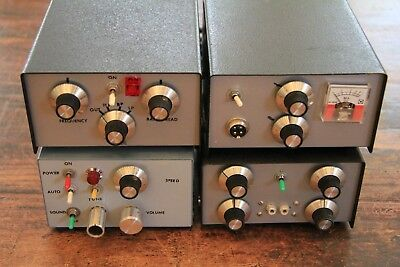 (4) T-Sin Electric Japan (Teishin) HAM Radio Accessories. Excellent Condition.