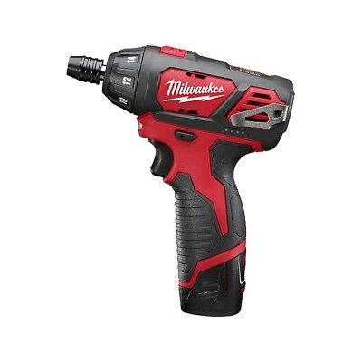 Milwaukee 2401-21 M12 1/4-inch Hex Screwdriver Kit with Soft Case