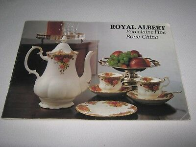 ROYAL ALBERT PORCELAIN FINE BONE CHINA CATALOGUE for 1979