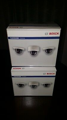 Bosch NDN-498V03-21P Flexidome Camera 2 total cameras new never used open box