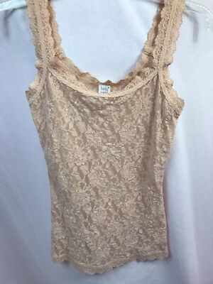 Hanky Panky 1390L Signature Unlined Lace Camisole, Nude, Ladies S