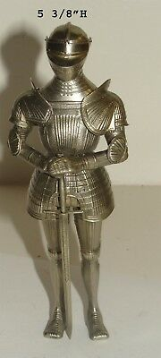 White Bronze Medieval Knight by Dave Sciarca Retail $500.00