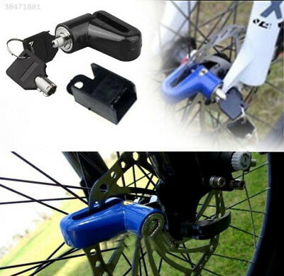 Motorcycle Rotor Lock Heavy Duty Motorcycle Scooter Disk Brake Rotor Lock F4CC