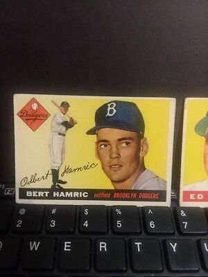 1955 Topps Lot Of 4 Cards Lower Grade Good Price!!