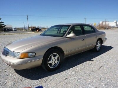 1997 Lincoln Continental  1997 LINCOLN CONTINENTAL ONE OWNER 54000 MILES CALIFORNIA FROM NEW ZERO RUST !!!