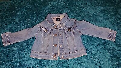 Girls GAP denim jacket 18-24 months