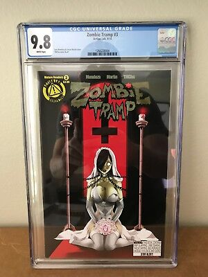 Zombie Tramp #3 CGC 9.8 - Action Lab Comics 1st Print 2014