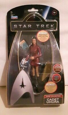 Star Trek Action Figur Cadet Uhura Warp Collection NEU OVP Raumschiff Enterprise