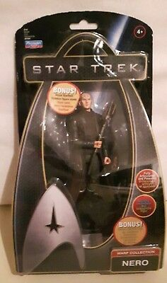 Star Trek Action Figur Nero Warp Collection NEU OVP Raumschiff Enterprise