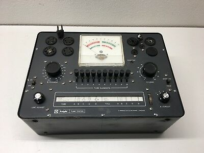 Used Vintage Knight Model 600 Tube Tester, Working For Audio & Other Type Tubes