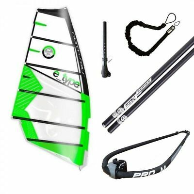 North Sails E-Type Komplettrigg Windsurf Rig | Freeride Set für Windsurfing