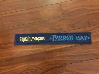 Captain Morgan Parrot Bay Rubber Bar Mat