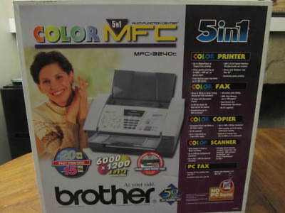 Brother MFC3240C 5-In-1 MutiFunction Center Color FAX/Scanner/Printer/Copier