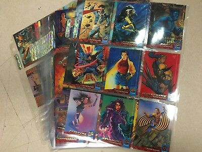 1994 Fleer Ultra X-Men Complete 150-Card Set by Fleer Skybox - Marvel Comics