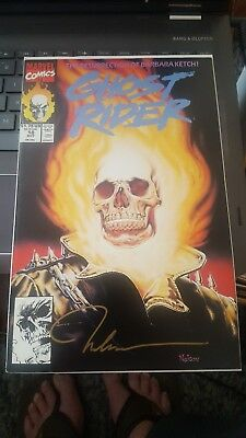 Ghost Rider #18 (Oct 1991, Marvel)  SIGNED BY NELSON DECASTRO VF/NM