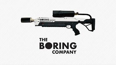 The Boring Company Not A Flamethrower Manual and Box... ALL CONTENTS INCLUDED