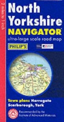 Navigator Road Map North Yorkshire Sheet map, folded Book The Cheap Fast Free