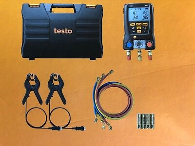 New testo 550 digital manifoldKit Bluetooth W/Hoses