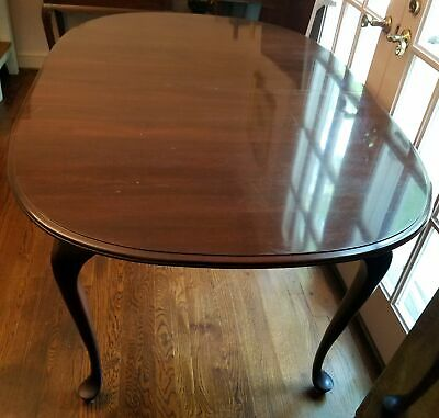 "ETHAN ALLEN GEORGIAN COURT CHERRY DINING ROOM TABLE 11-6094 60"" x 40"" + 2 LEAVES"