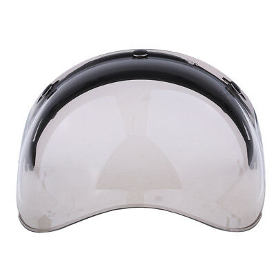 Motorcycle Helmet 3-Snap Flip Up Open Face Visor Lens Shield Color#2