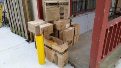 Protect-It Pallet Rack Column Guards Box of 24