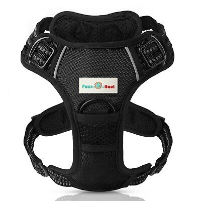 PAWS N HAUL No Pull Adjustable Dog Harness 3M Vest Reflective and Padded - New