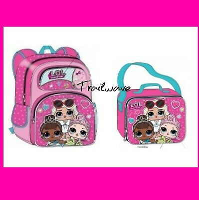 LOL Surprise Doll 3D Backpack and  Lunch Box Tote - NEW!!!