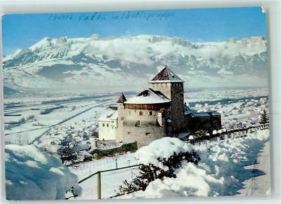 10372475 - Vaduz Schloss 1969 Winter