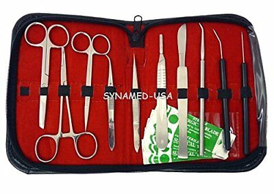 20 Pcs Advanced Biology Lab Anatomy Medical Student Dissecting Dissection Kit !