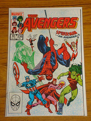 Avengers #236 Vol1 Marvel Comics Spiderman Apps Scarce October 1983