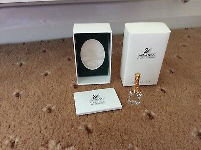 Swarovski Memories Champagne Bottle(preowned)