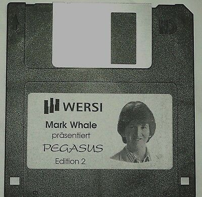 WERSI  Diskette Pegasus,PhonX, Mark Whale, Edition 2