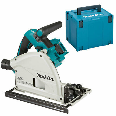 Makita DSP600ZJ Twin 18v LXT Cordless Brushless Plunge Saw No Batteries