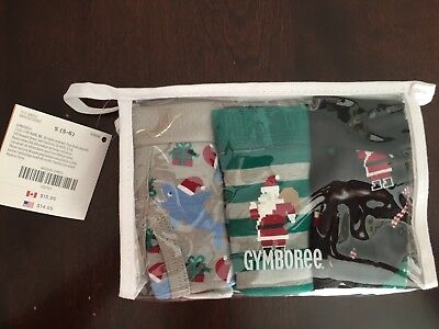 New in package Gymboree Boy Christmas Holiday Cotton Underwear Size 5-6 3 pack