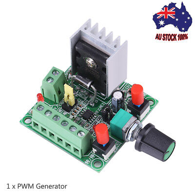 Stepper Motor Controller PWM Pulse Signal Generator Speed Regulator Board 1PC AU