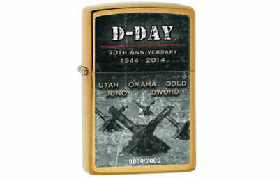 Zippo D-Day 70th Anniversary Commemorative Lighter, Limited Edition 7000 Units