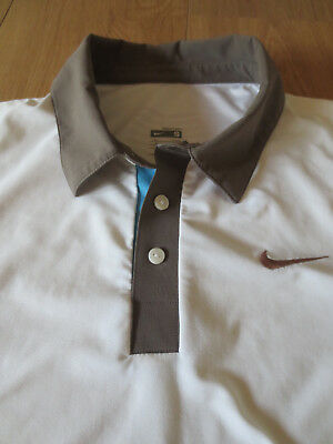 Original NIKE Tennis Polo Shirt Dry Fit Größe S